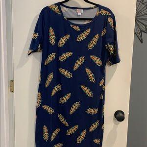 EUC Lularoe Julia dress